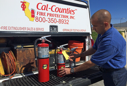Expert Fire Extinguisher Service| Cal Counties Fire Protection